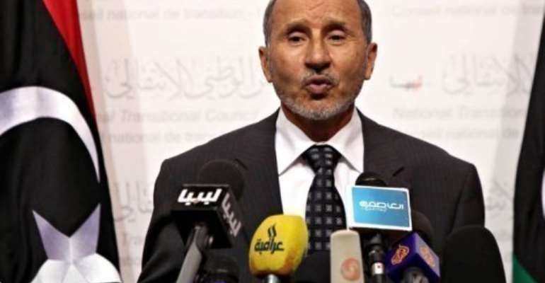 Libyan leader Mustapha Abdel Jalil urged the eastern region's leaders to engage in talks.  By Mahmud Turkia (AFP/File)