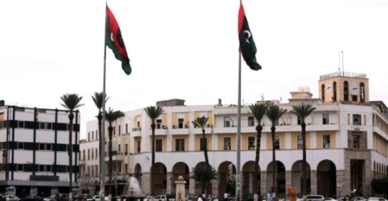Tripoli's Martyrs Square, formerly called  Green Square during the dictatorship of slain Libyan dictator Moamer Kadhafi.  By Mahmud Turkia (AFP)