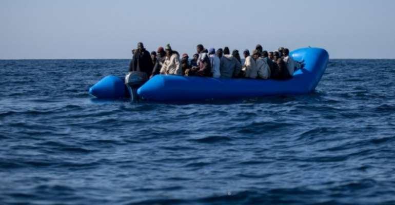 Libyan coastguard patrols rescued