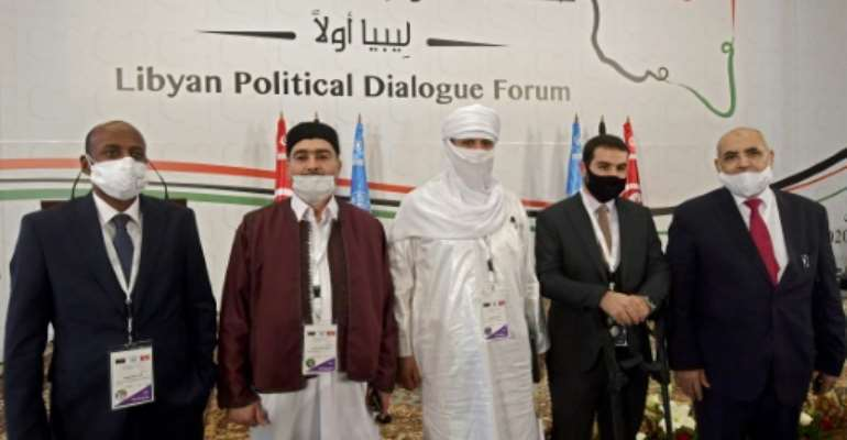 Libyan delegates launched on Monday UN-led political talks hoping to end a decade-old conflict in the North African country.  By FETHI BELAID (AFP/File)