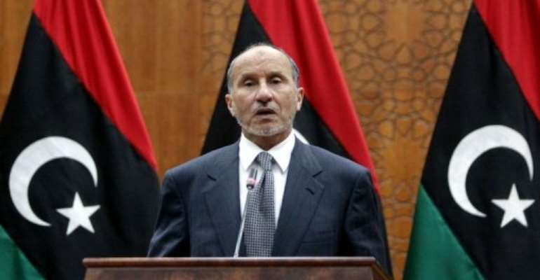Jalil said the council made the decision because of concerns about stability.  By Mahmud Turkia (AFP/File)