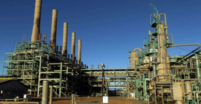 Libya's 'oil crescent' is a vital source of revenue for the North African country.  By Abdullah DOMA (AFP/File)