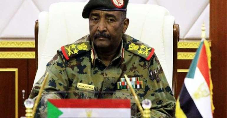 Lieutenant General Abdel Fattah al-Burhan, the chief of Sudan's ruling military council.  By - (SUDAN NEWS AGENCY/AFP)