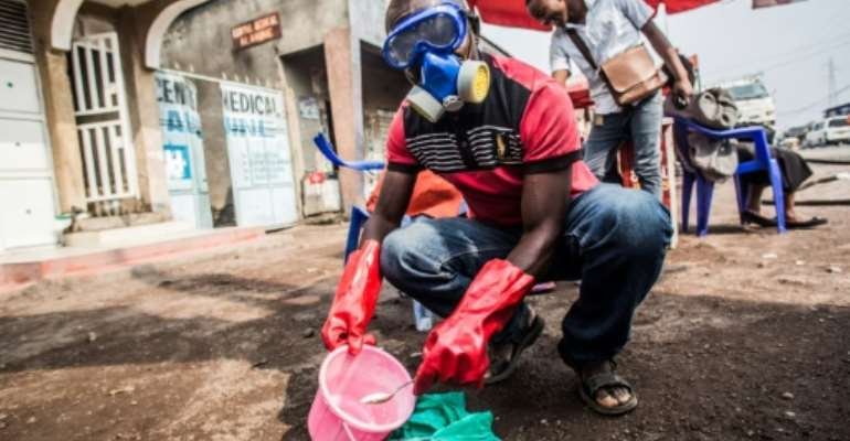 Local authorities say they have taken measures to contain the virus.  By PAMELA TULIZO (AFP)