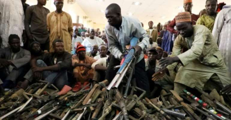Local Nigerian governments have tried amnesties to get bandits to surrender but most of those peace deals have fallen apart or failed to stop the violence.  By Kola Sulaimon (AFP)