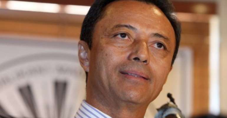 Ravalomanana planned to return to Madagascar for the first time since his exile in 2009.  By  (AFP)