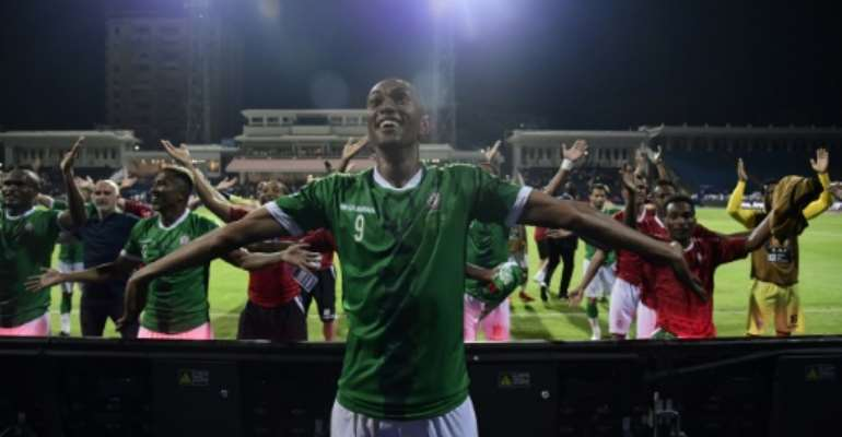 Madagascar's shootout win over DR Congo sent them into the quarter-finals in their first ever appearance in the Africa Cup of Nations.  By JAVIER SORIANO (AFP)
