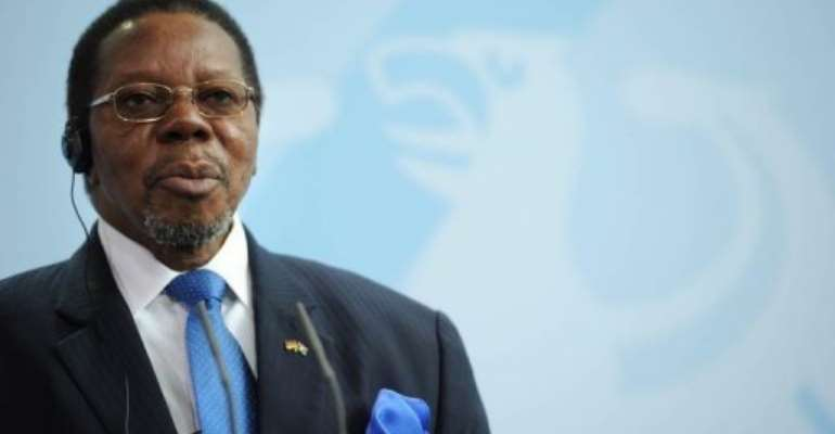 The confirmation of Mutharika's death eases fears of a political vacuum.  By Johannes Eisele (AFP/File)