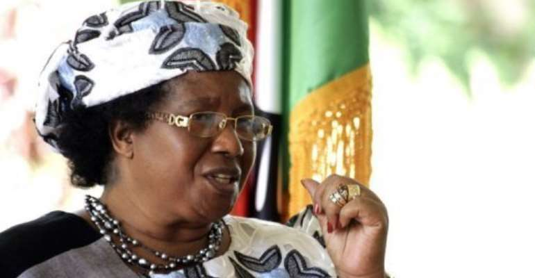 President Joyce Banda has moved quickly to restore Malawi's relations with international lenders and donors.  By Amos Gumulira (AFP)