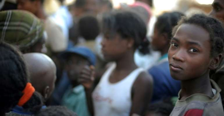 Male domination and acceptance of domestic violence are entrenched in Madagascar, say experts.  By ROBERTO SCHMIDT (AFP)