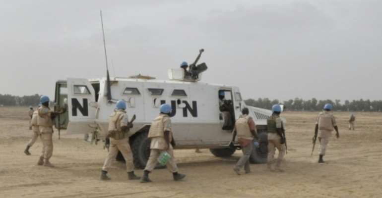 The Mali mission is the most dangerous active deployment for UN peacekeepers and has been hit by sharp internal tensions since its launch in July 2013.  By Alou Sissoko (AFP/File)