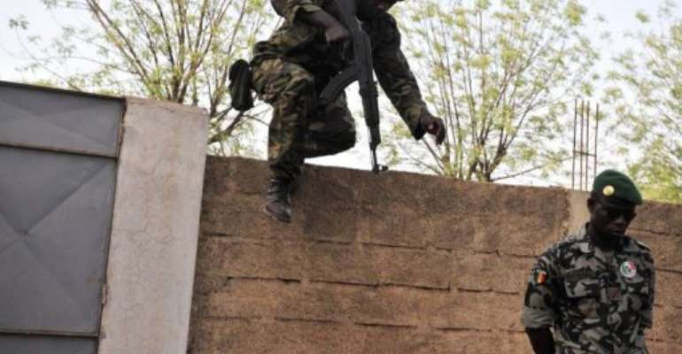 The United Nations Security Council plans a statement on the Mali crisis.  By Issouf Sanogo (AFP)