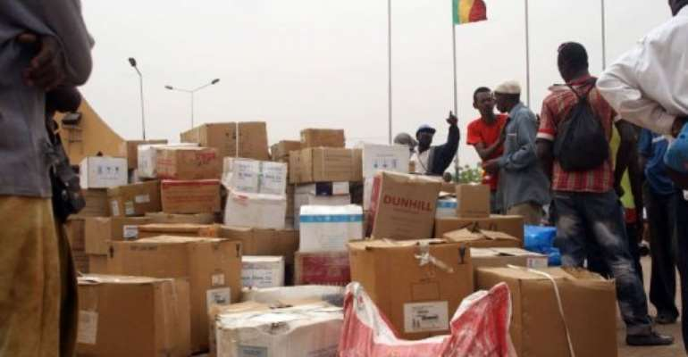 ECOWAS had raised the prospect of sending a force of up to 3,000 men to try to reclaim the north.  By Habibou Kouyate (AFP)