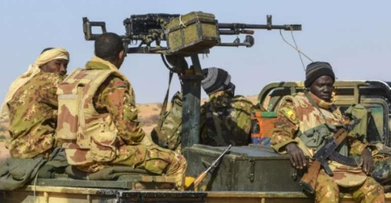 Malian Army have been battling an Islamist insurgency since 2012.  By Souleymane AG ANARA (AFP)