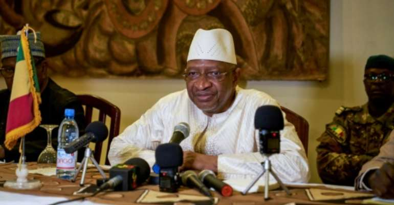 Malian Prime Minister Soumeylou Boubeye Maiga's government was accused of not doing enough to stop an upsurge of violence in the centre of the country.  By MICHELE CATTANI (AFP/File)