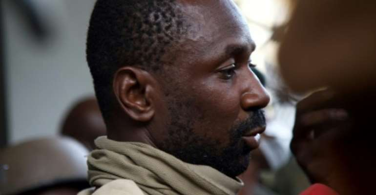 Malian strongman colonel Assimi Goita is a former special forces commander.  By ANNIE RISEMBERG (AFP)