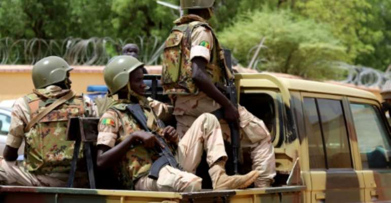 Mali's army has been struggling in the face of a jihadist revolt.  By Souleymane Ag Anara (AFP/File)