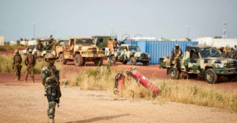 Mali's army is suffering increasingly heavy losses from jihadist attacks.  By MICHELE CATTANI (AFP/File)