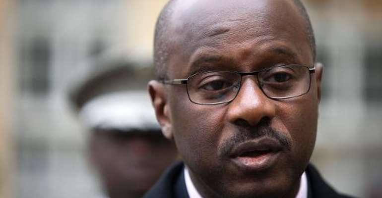 Mali's prime minister Oumar Tatam Ly is pictured in Paris, on February 7, 2014.  By Joel Saget (AFP/File)