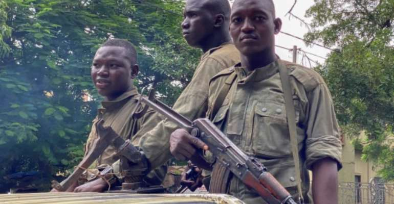 Mali's military junta has warned the population against