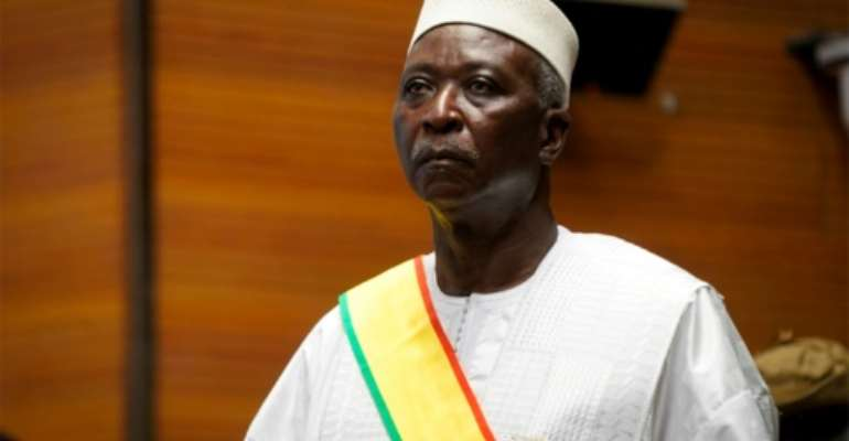Mali's president Bah Ndaw was detained along with the prime minister.  By MICHELE CATTANI (AFP/File)