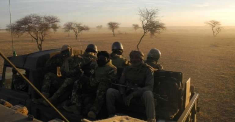 Mali's troops have been embroiled in a nearly six-year-old fight against jihadists.  By Daphné BENOIT (AFP/File)