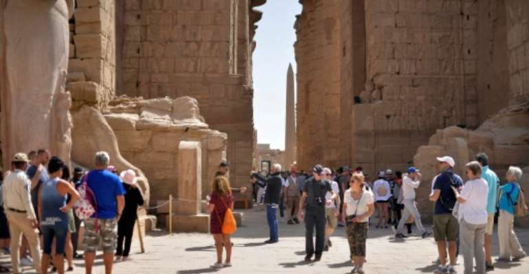 Many flights that would have carried visitors to Egypt have been cancelled amid efforts to slow the spread of the novel coronavirus.  By - (AFP)