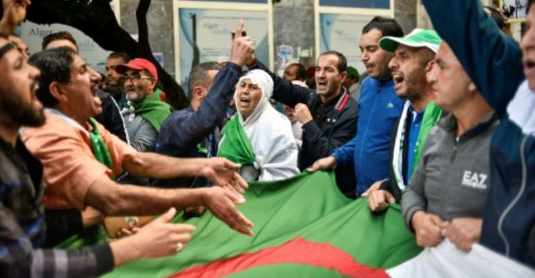 Mass anti-government protests in Algeria have entered their ninth month with demonstrators demanding an overhaul of the political establishment before presidential polls are held in December.  By RYAD KRAMDI (AFP)