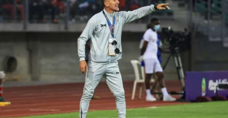 Milutin Sredojevic was in charge of Zambia during the African Nations Championships in January.  By Daniel BELOUMOU OLOMO (AFP/File)