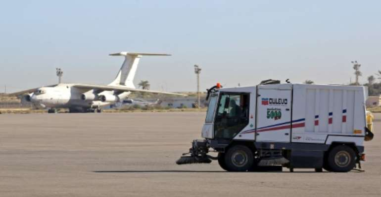 Mitiga airport has been used for civilian flights since Tripoli's main international airport was damaged in fighting in 2014.  By Mahmud TURKIA (AFP/File)