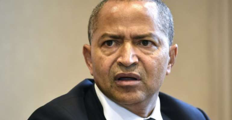 Moise Katumbi, pictured in 2018, pledged to remain in opposition and not join the new government of President Felix Tshisekedi.  By JOHN THYS (AFP/File)