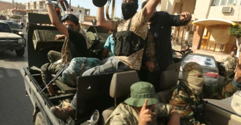 Monday's capture by Libyan unity government forces of two key towns on the road to the Tunisian border is a major setback for military strongman Khalifa Haftar's year-old offensive against the capital Tripoli.  By Mahmud TURKIA (AFP)