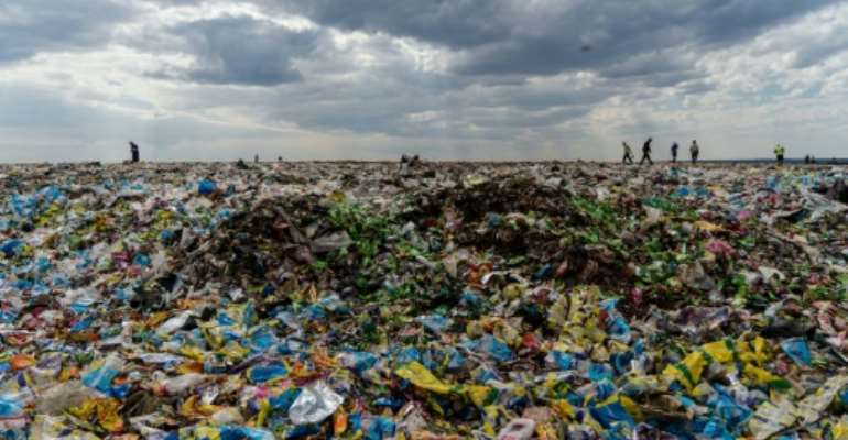 More than 30 African countries have banned plastic bans as a way to tackle plastic waste due to its non-biodegrable nature.  By Zinyange Auntony (AFP)