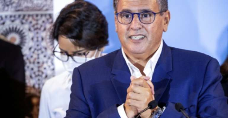 Moroccan businessman and head of the National Rally of Independents party Aziz Akhannouch has been tasked by King Mohammed VI to form a new government after the moderate Islamist and Justice Development party was thrashed in Wednesday's elections.  By FADEL SENNA (AFP)