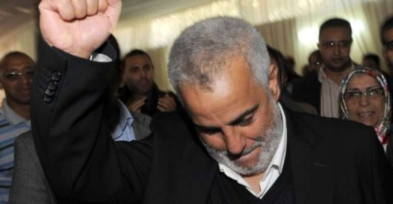 Benkirane said his party would need to tailor its programme to appease prospective coalition partners.  By Abdelhak Senna (AFP)