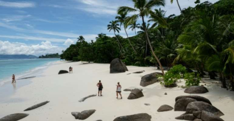 Most of the Indian Ocean islands making up the Seychelles, a prized honeymoon destination, are uninhabited.  By Yasuyoshi CHIBA (AFP/File)