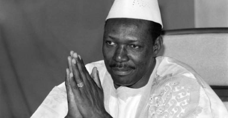 Moussa Traore, who ruled Mali for 22 years before being deposed in a 1991 coup, died at age 83 on September 15.  By FRANCOIS ROJON (AFP/File)
