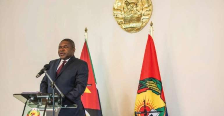 Mozambique's President Filipe Nyusi said a breakthrough had been made with the opposition Renamo party over the disarmament of its armed wing.  By MAURO VOMBE (AFP/File)