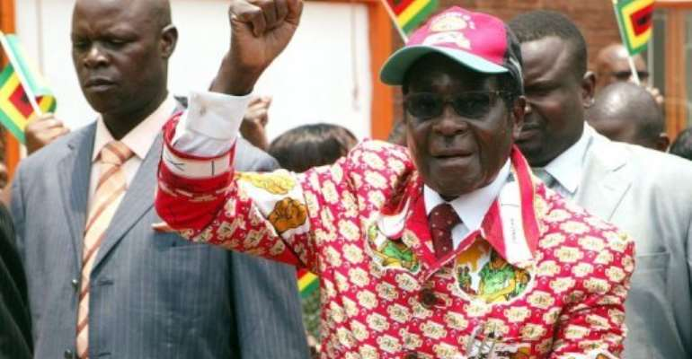 At 88, Mugabe is Africa's oldest leader.  By Jekesai Njikizana (AFP)