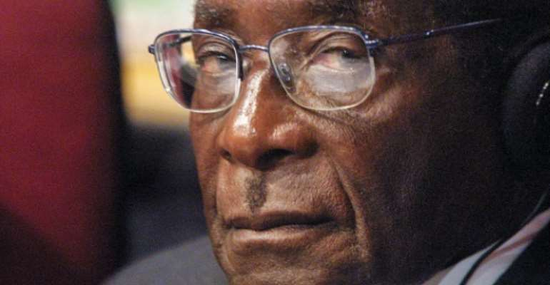 Mugabe died less than two years after being forced from office.  By Anna ZIEMINSKI (AFP/File)
