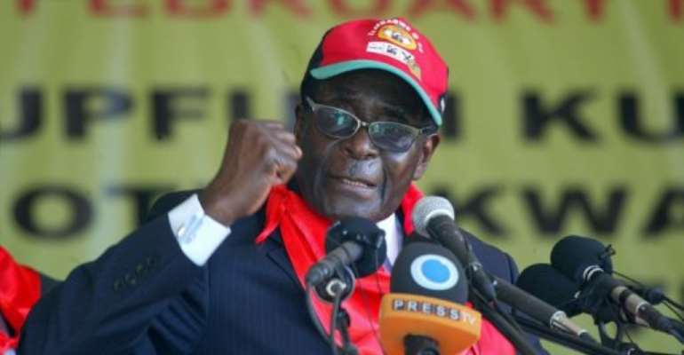 Mugabe's health is a key factor in Zimbabwe's politics as he has no clear successor.  By Jekesai Njikizana (AFP/File)