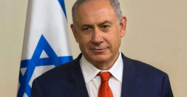 Israeli Prime Minister Benjamin Netanyahu has been ion office since 2009.  By Sebastian Scheiner (Pool/AFP)