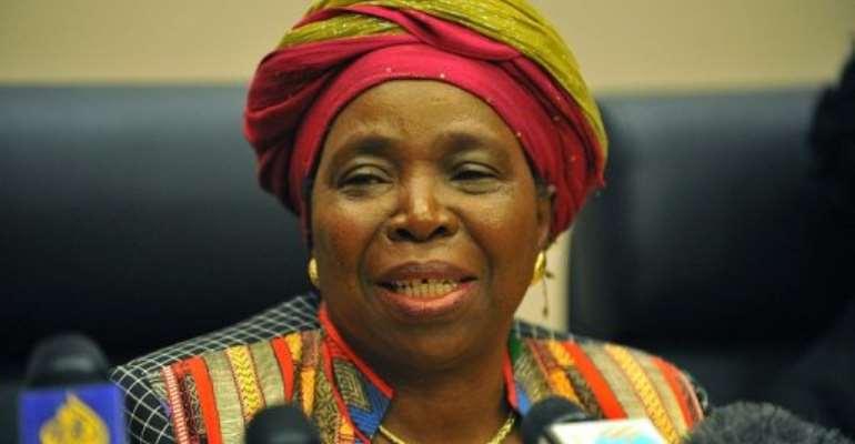 Africa needs more infrastructure to connect its 54, Nkosazana Dlamini-Zuma said Sunday.  By Simon Maina (AFP/File)