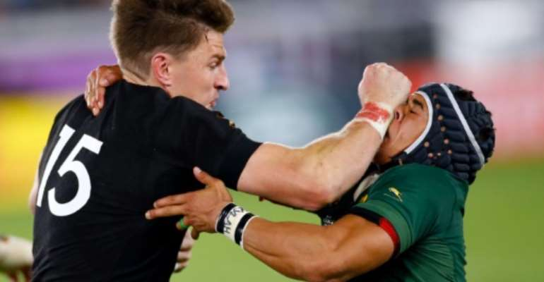 New Zealand and South Africa have an intense rivalry dating back a century.  By Odd ANDERSEN (AFP)