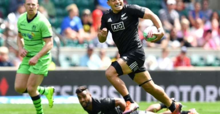 New Zealand forward Tone Ng Shiu has been included in the All Blacks Sevens squad for this weekend's Oktoberfest 7s in Munich, which boats an impressive line-up of teams..  By Ben STANSALL (AFP/File)