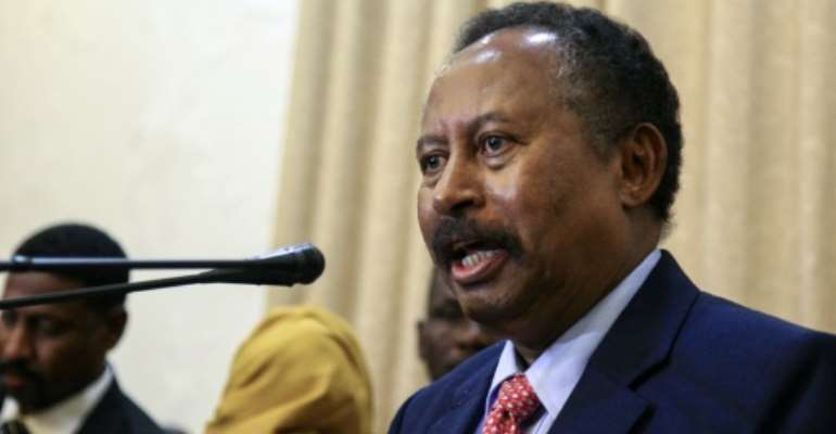 Newly appointed Sudanese Prime Minister Abdalla Hamdok will name his key cabinet picks from nominees put forward by protest leaders.  By Ebrahim HAMID (AFP/File)