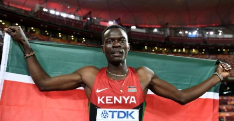 Nicholas Bett was killed in a car accident shortly after returning home from the African championships in Nigeria.  By Franck FIFE (AFP/File)