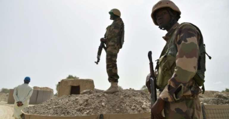 Niger has been battling increasing cross-border attacks from Nigerian jihadist group Boko Haram.  By ISSOUF SANOGO (AFP/File)
