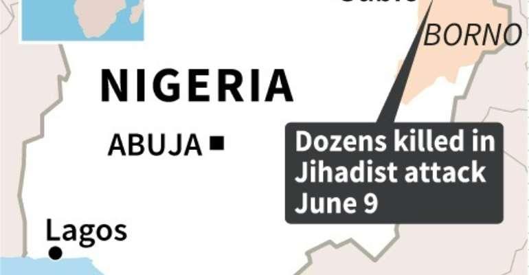 Nigeria attack.  By AFP (AFP)