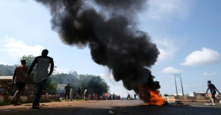 Nigeria has been gripped by several weeks of protests over police brutality.  By Kola Sulaimon (AFP/File)
